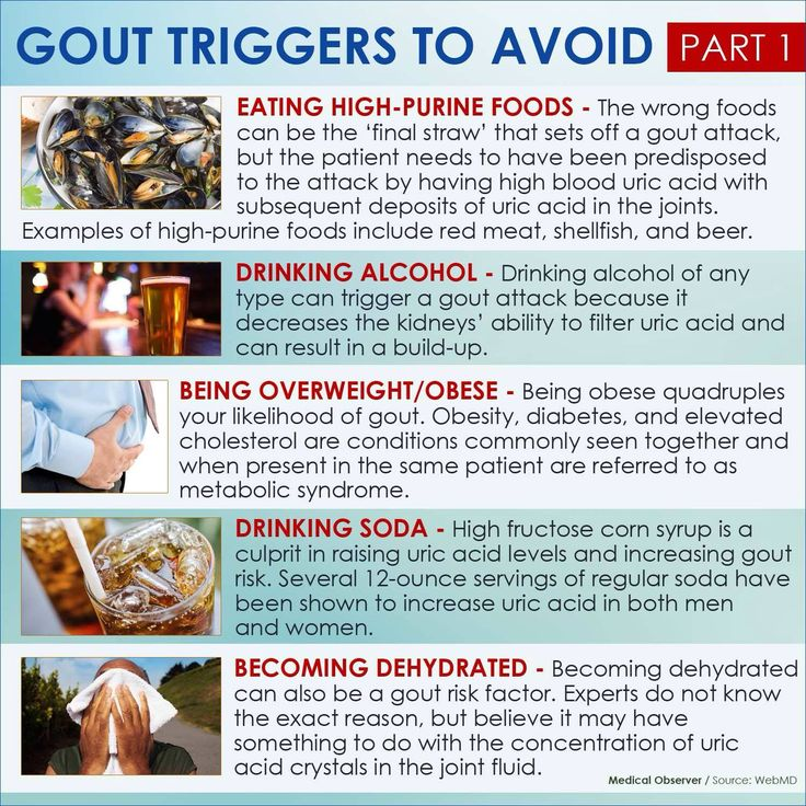 what triggers gout
