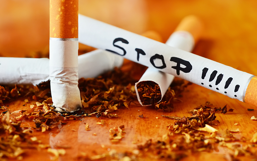 how to quit smoking cigarettes naturally