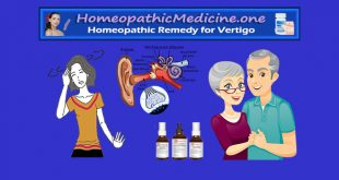 Homeopathic remedies for vertigo